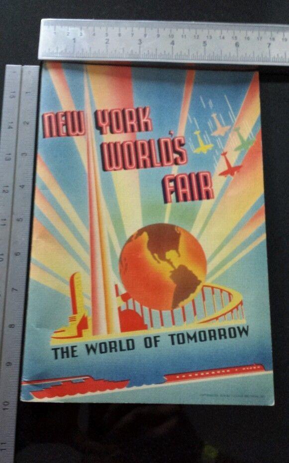 New York Worlds Fair 1939 Book The World Of Tomorrow