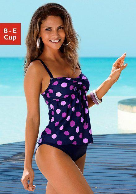 Bügel-Tankini im trendigen Punkte-Design #hochzeitskleiderhäkeln
