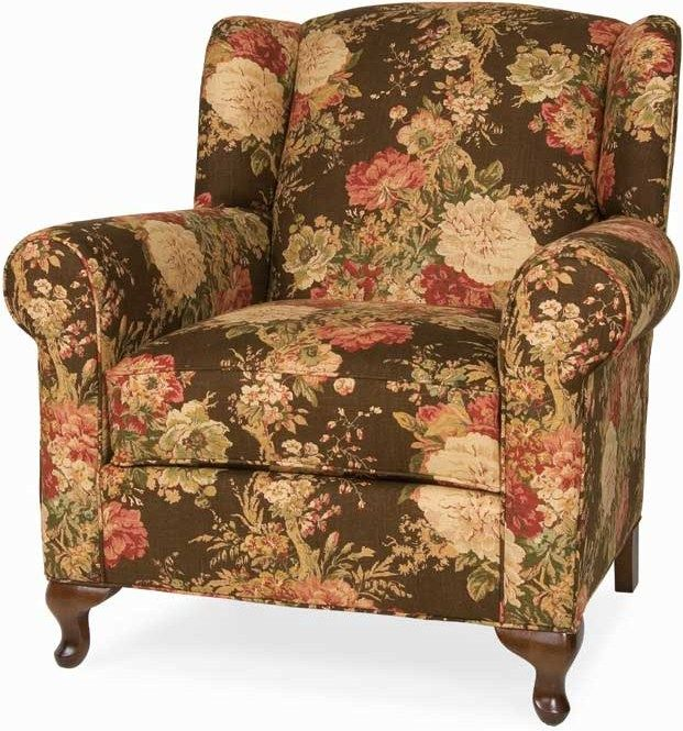 C.R. Laine Accents Portland Chair At Jacksonville Furniture Mart, But Hate  The Fabric
