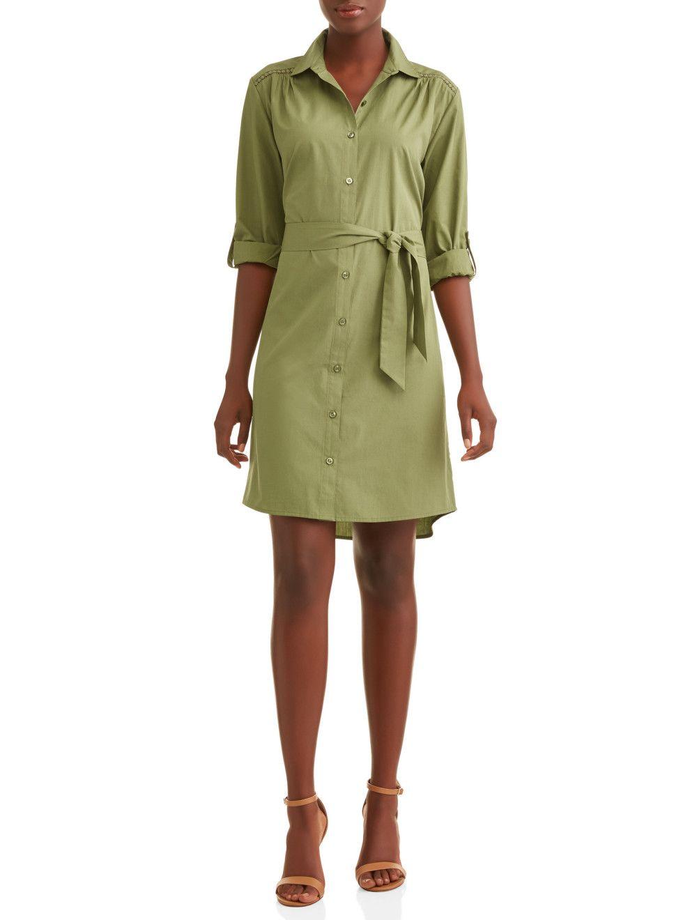 20 Dresses That Ll Have You Saying Okay Walmart I See You Shirt Dress Midi Shirt Dress Clothing Haul [ 1320 x 990 Pixel ]
