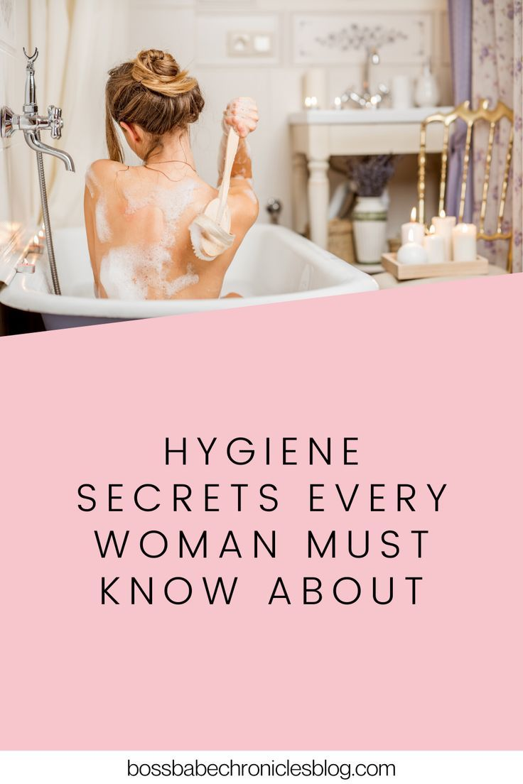 Take your self-care and feminine hygiene to the next level with these secret hacks! Here are hygiene secrets every woman must know about. #hygiene #selfcare #femininehygiene