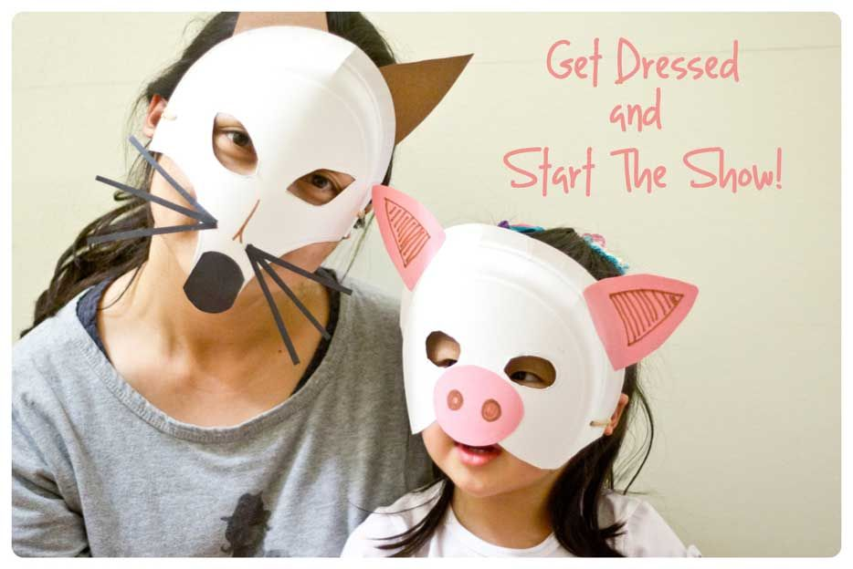 Paper Plate Animal Masks - Peapod Labs  sc 1 st  Pinterest & Paper Plate Animal Masks - Peapod Labs | Cub Scout Activities ...