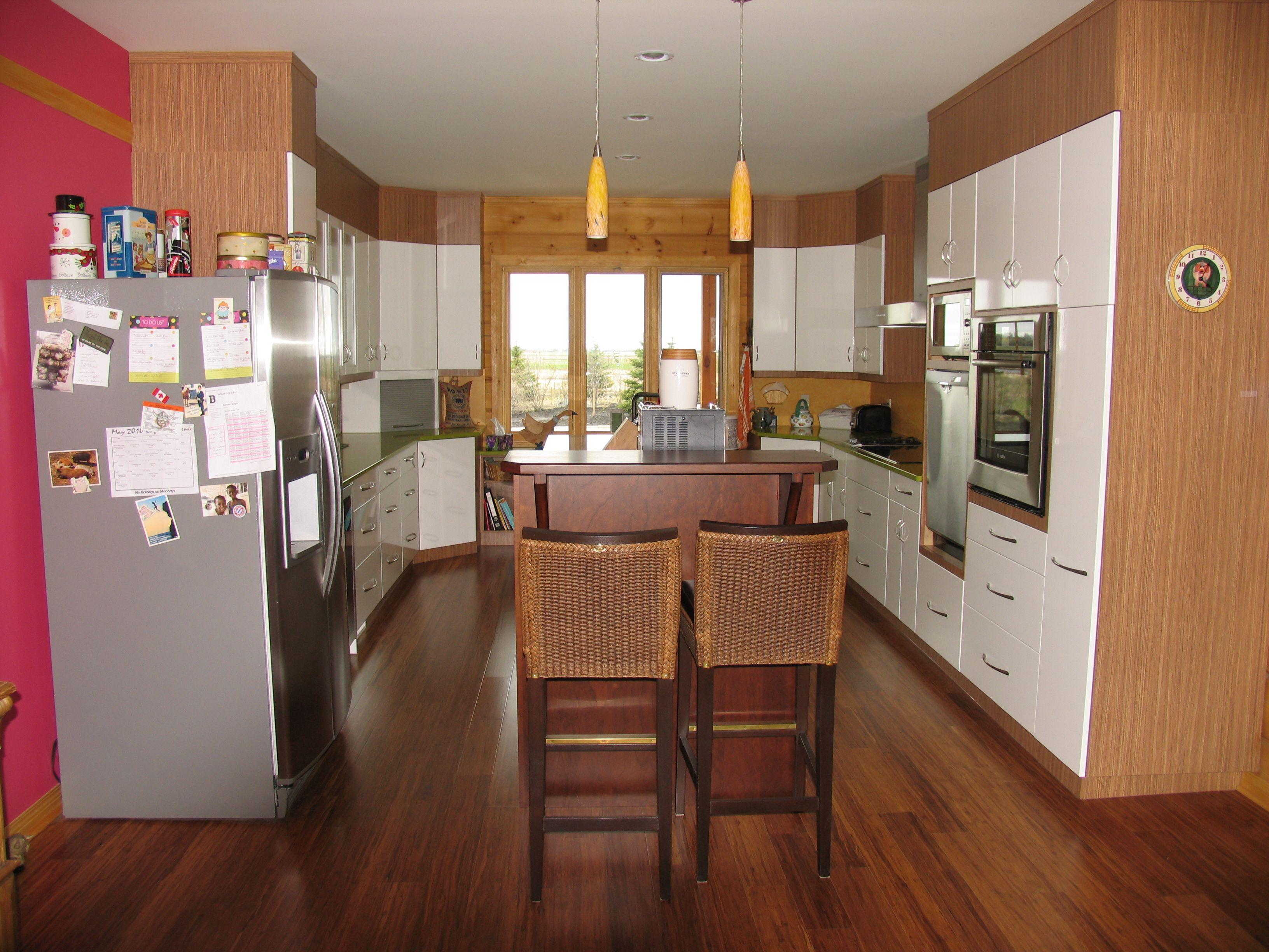 Melamine Kitchen Cabinets Kitchen Cabinets Mdf White Ultra Gloss And Natural Zebrano