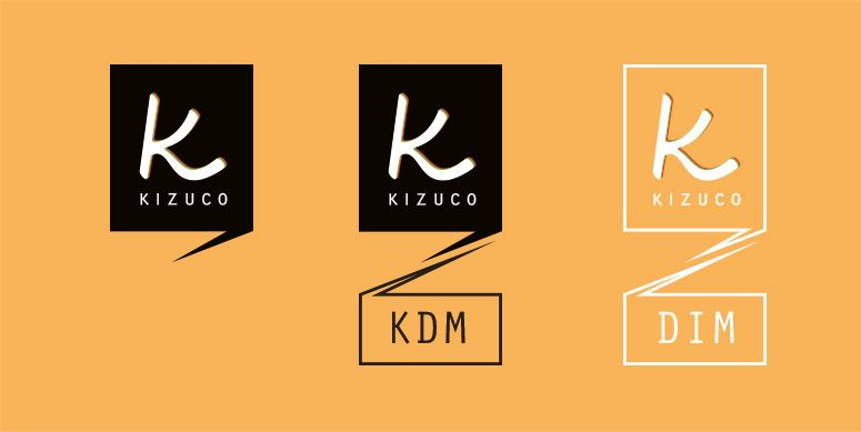 logo and signs for kizuco - onlineshop and magazin