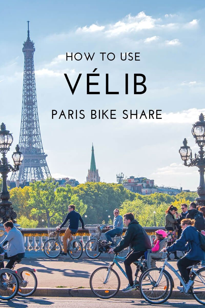 How To Use Velib Paris Bike Share Paris Travel France Travel