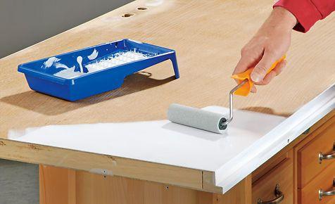 Möbel lackieren - küche folieren anleitung