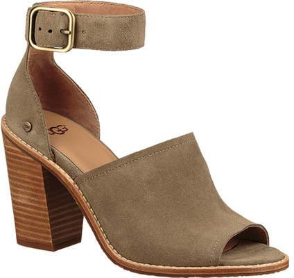 454a2f08eda UGG Aja Heeled Sandal (Women's) | Products | Ugg sandals, Uggs, Heels