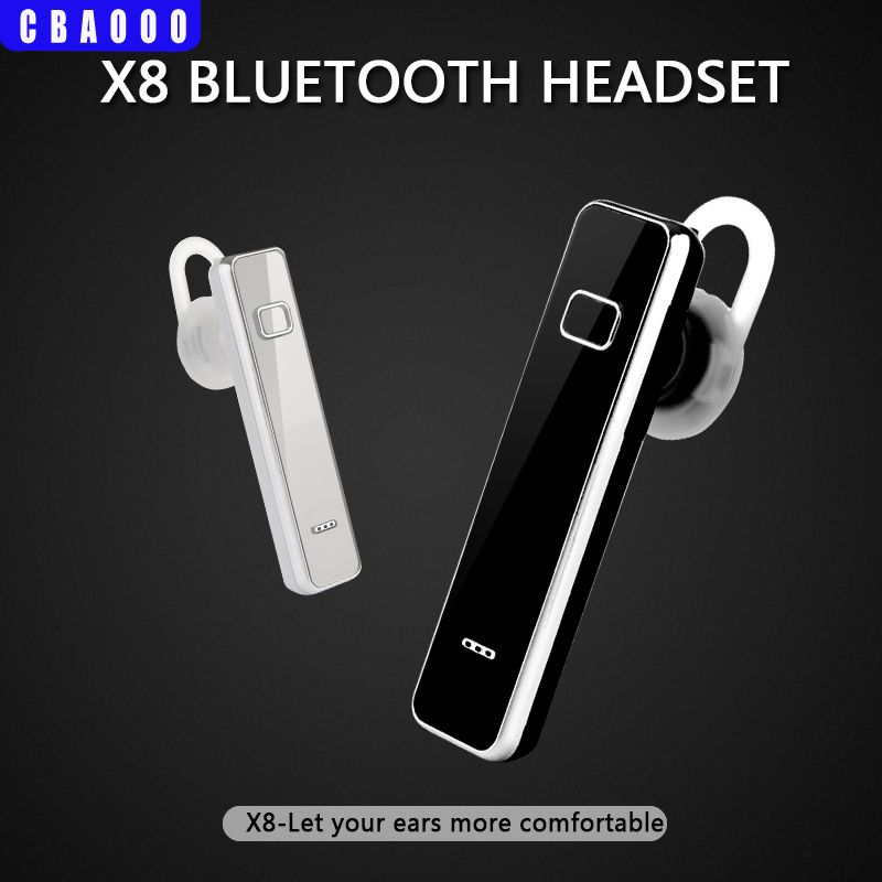 CBAOOO X8 Wireless Bluetooth Headset Earphone V4.1 Bluetooth Headphone With Microphone Earphone For smart phone