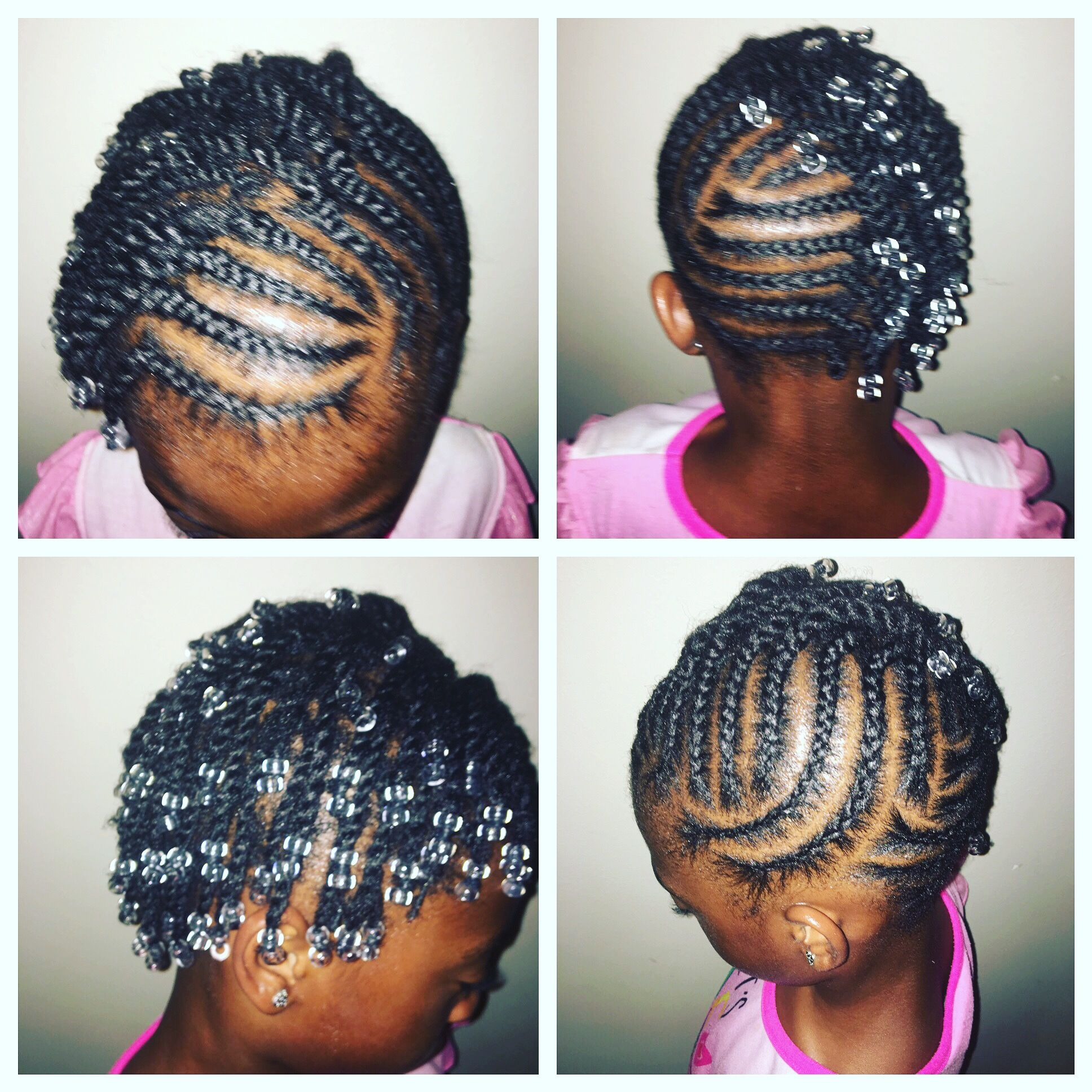 Natural Hairstyle For African American Girl W Short Hair