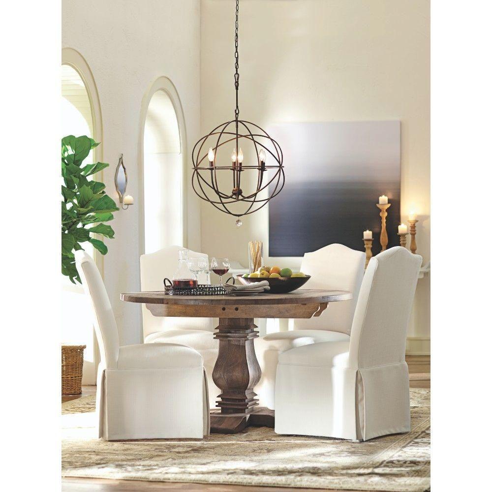 Home Decorators Collection Aldridge Antique Grey Dining Table 699