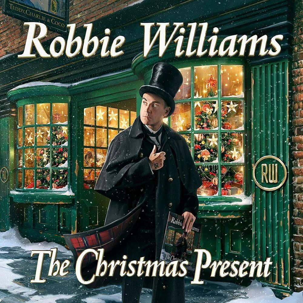 Robbie Williams The Christmas Present Deluxe 2CD Nuovo Sigillato Canzoni Natale | Vinile, Rod ...