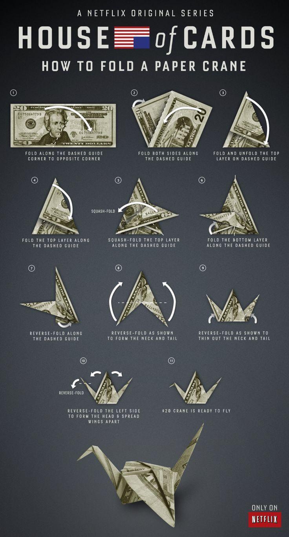 01737dd882daf21328eda1b4b7b28230g 7361370 the krane how to fold a paper crane just like claire underwood house of cards jeuxipadfo Choice Image