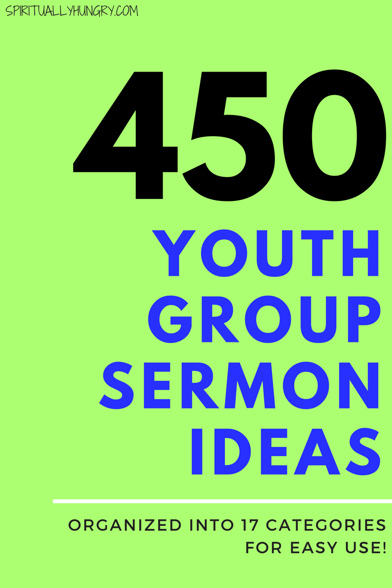 450 Topics For Youth Sermons images