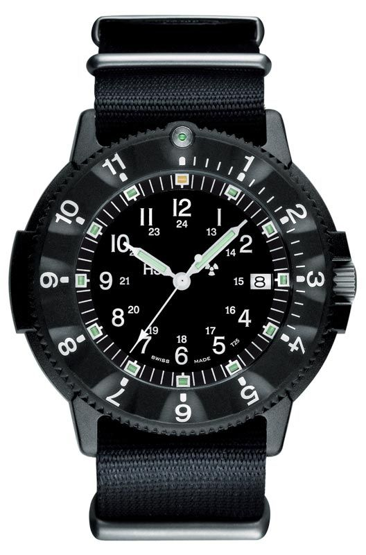 86367b8b Military? Check. Big face? Check. Manly? Check check. Such a cool bold  watch for the drill Sergeant in your life. Traser P6500 Mens Military Type  6 Watch