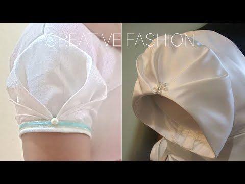 Very Beautiful Origami Sleeve cutting,stitching हिंदी में। - YouTube