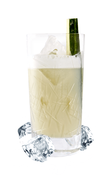 Ein unwiderstehlicher Cocktail mit dem exotischen Flair von Batida de Côco.  Noch mehr leckere Drinks mit dem Kuss der Kokosnuss gibt es auf der Batida-Website.