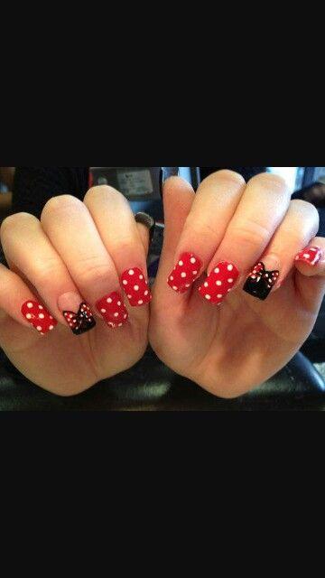Polka dots and bows