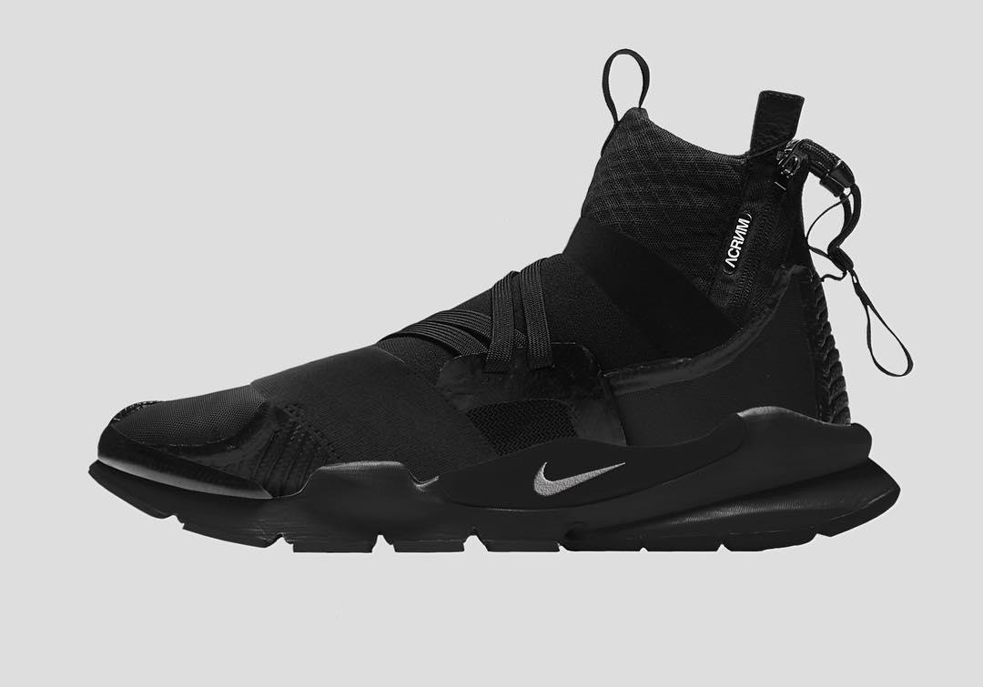 956b7beb71e60 Nike Sock Dart Mid + Acronym | Custom | Shoes in time in 2019 ...