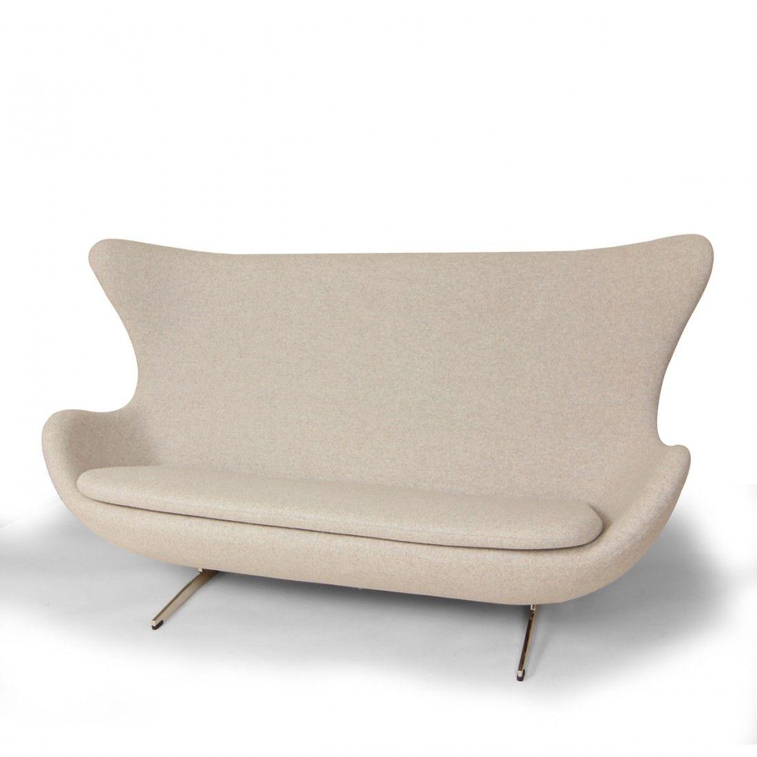 Mid Century Modern Reproduction Egg Sofa Inspired By Arne Jacobsen