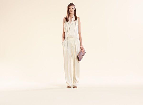 jump-suit-drappeggiata-bianco-iridescente-gucci  #tendenze #trend #mood #colors #clothes #abbigliamento #abbigliamentodonna #womenswear #springsummer #primaveraestate #springsummer2014 #primaveraestate2014 #moda2014 #abiti