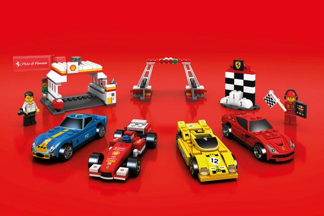 Shell V Power Lego Collection On Sale At Shell Stations Lego Ferrari Lego Sets