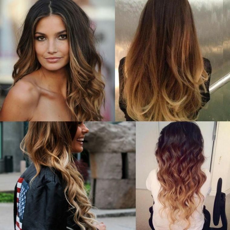 Proposte per acconciature per capelli lunghi con effetto ombre ... 52b80064dc83