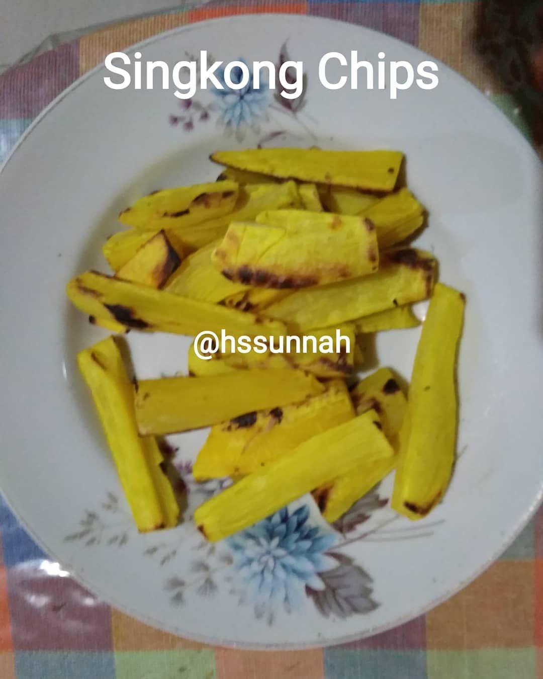 Hidup Sehat Jsr Di Instagram Bismillah Singkong Chips Bahan 1 Singkong Cassava Yukka 2 Bawang Putih Bubuk Garlic Powder Food Snacks Chips