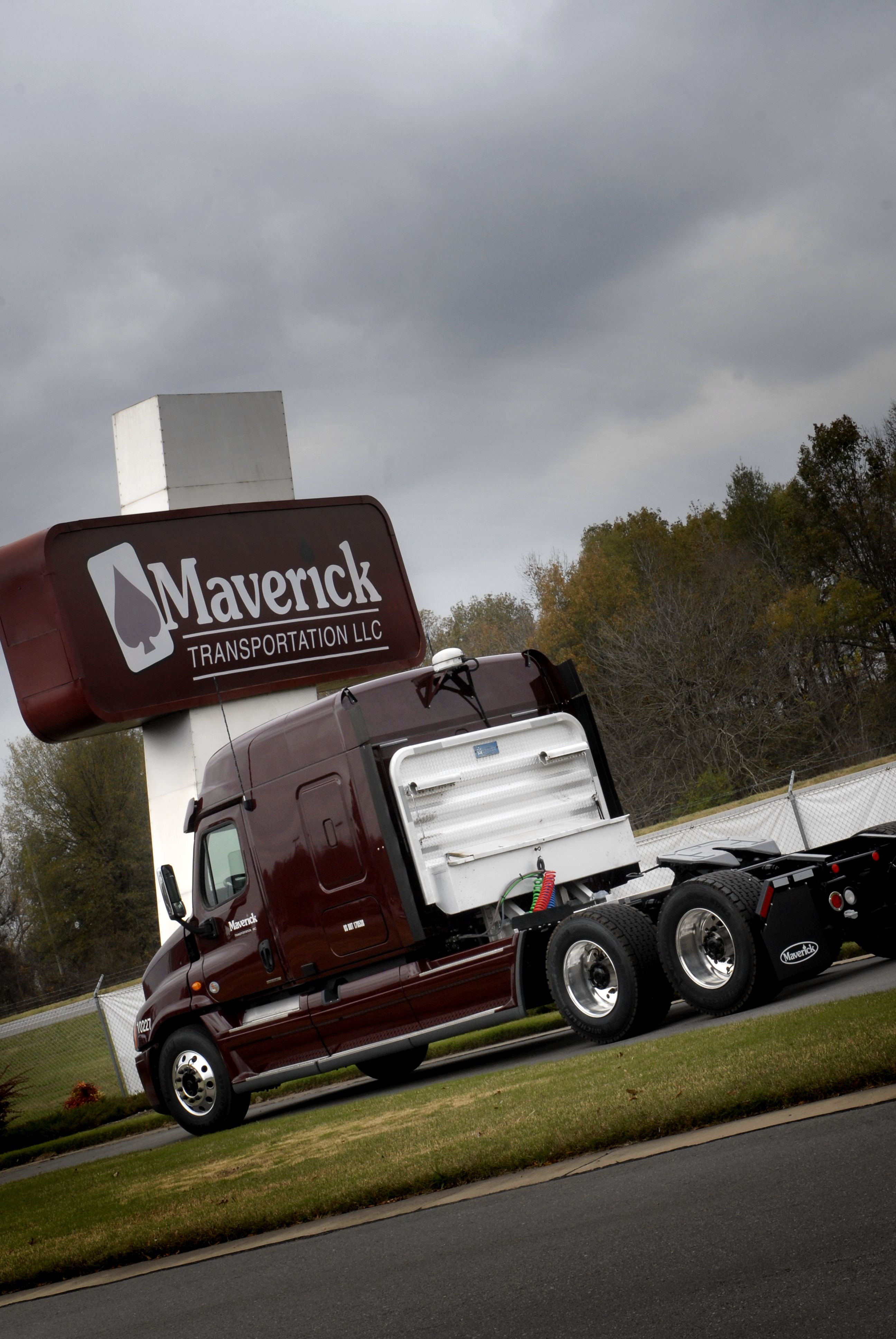 Williams started Maverick Transportation with just one truck