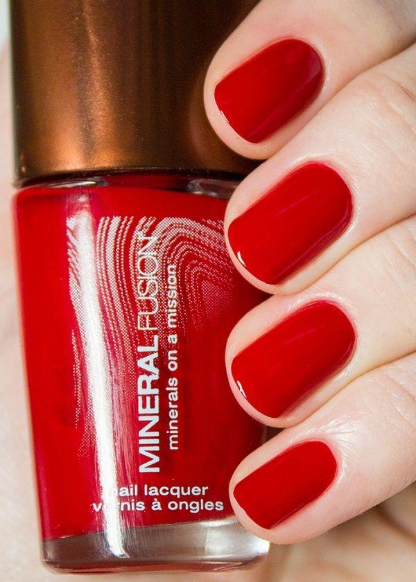 Mineral Fusion Nail Polish, Crimson Clay - Price: $7.59 | Nails ...