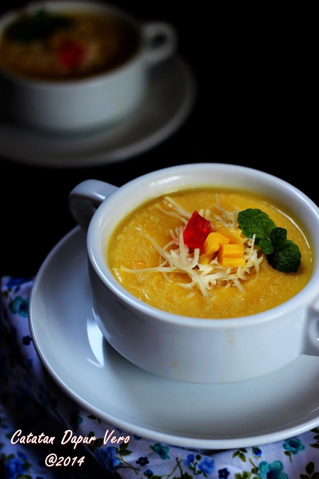 Catatan Dapur Vero Bubur Jagung Manis Keju Resep Makanan Bayi Resep Masakan Indonesia Resep Masakan