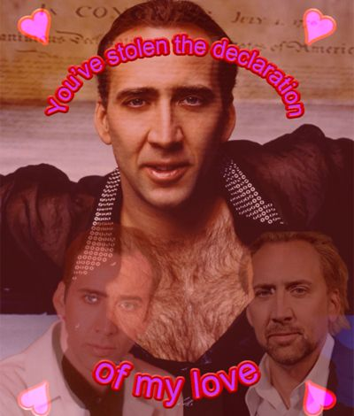 Fesselnd Nicolas Cage Valentines Card / I Will Never Get Tired Of These Tbqh