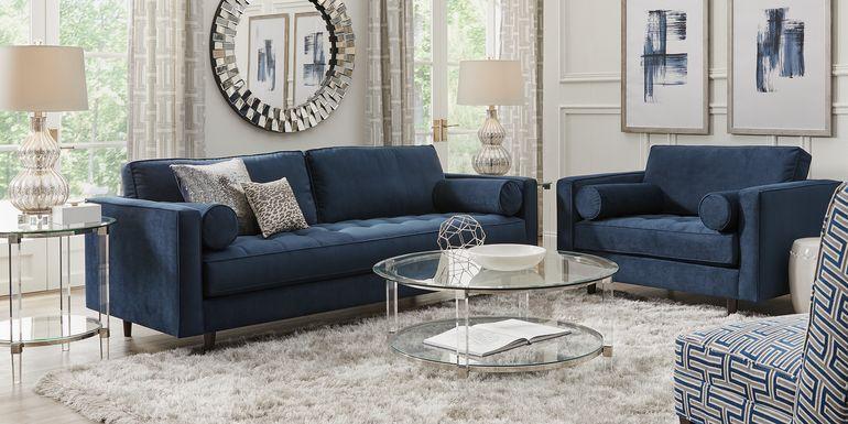 Upholstered Living Room Furniture Sets In 2020 Living Room Sets Furniture Luxury Living Room Design Blue Sofa Room
