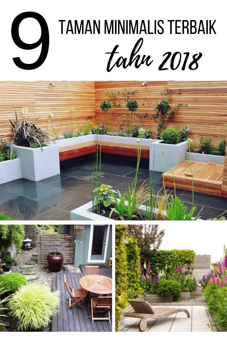 9 Desain Taman Minimalis Terbaik 2018 Desain Rumah Impian Home