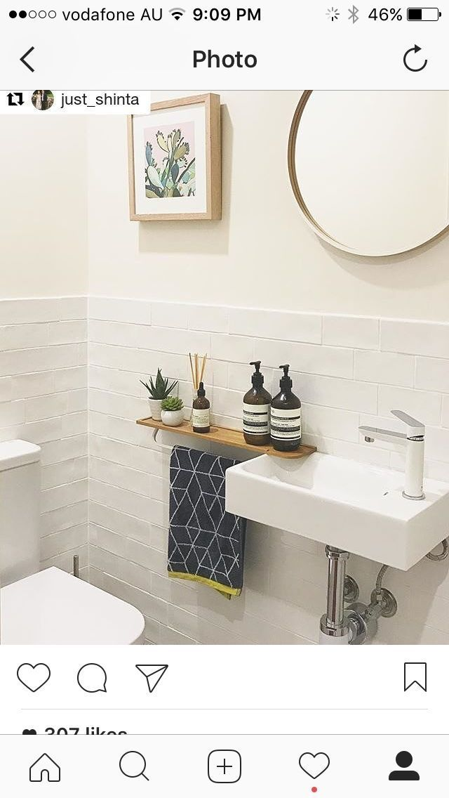 Handtuchhalter Ideen für WC –   # - Zimmer ideen #downstairstoilet