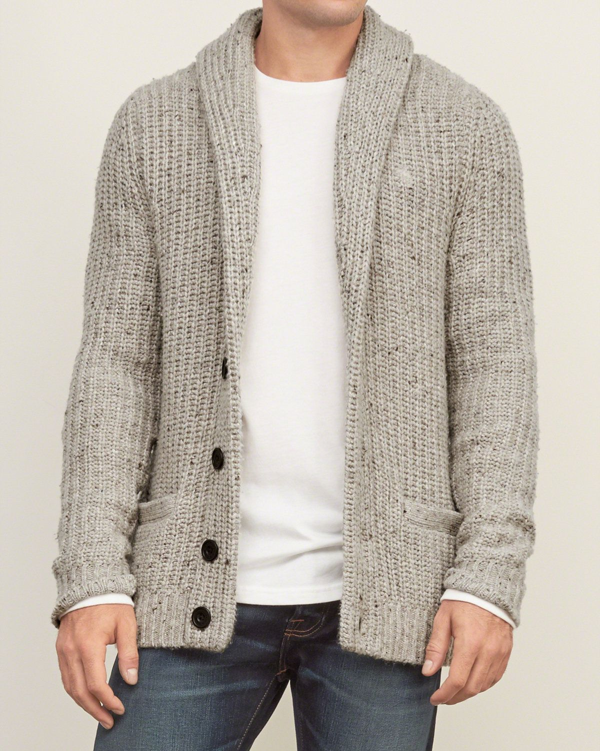 Mens Shawl Cardigan Sweater | Mens Sweaters | Abercrombie.co.uk