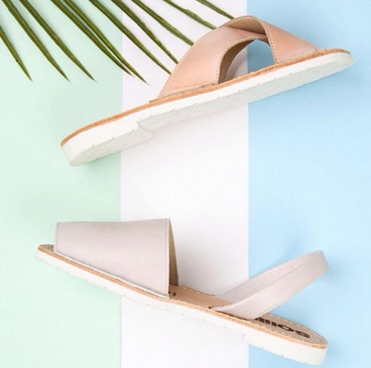 Is it summer yet?   We can't wait to get our feet into these SS16 pastel dreams by Solillas #sandals #footwear #accessories #SS16 #shoes #Solillas