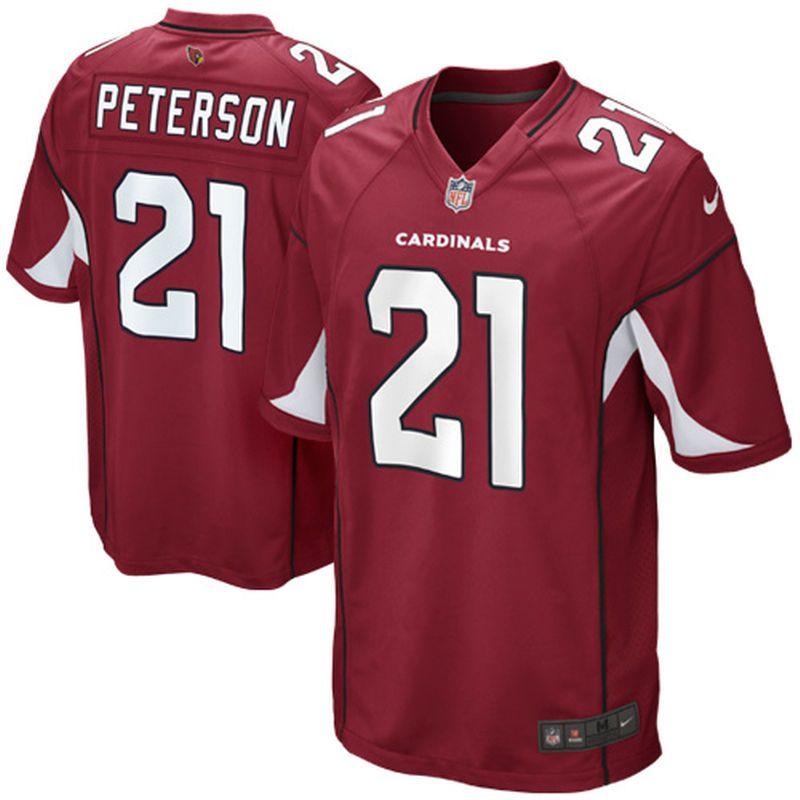 Patrick Peterson Arizona Cardinals Nike Youth Team Color Game Jersey -  Cardinal a3c5cdc9e