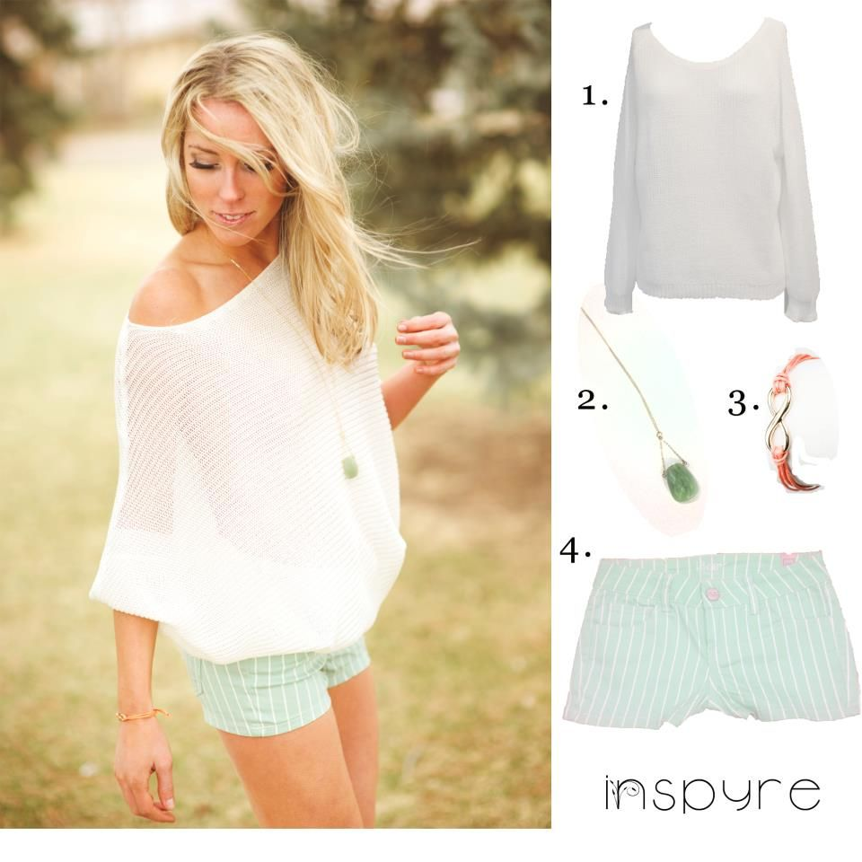 cute spring/summer outfit from Inspyre