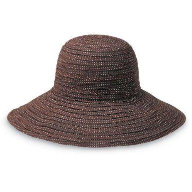 Wallaroo Women S Scrunchie Uv Sun Hat Brown White Dots 13 Years Amazon Co Uk Sports Outdoors Sun Hats Packable Sun Hat Floppy Hat Summer