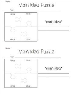 key details template third grade - Google Search   Reading ...