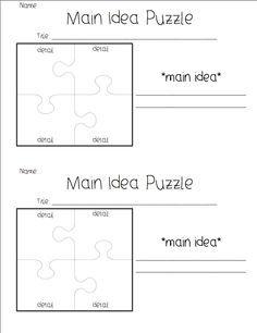 key details template third grade google search education ela pinterest language arts. Black Bedroom Furniture Sets. Home Design Ideas
