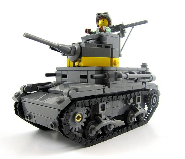 M2A4 Light Tank (USMC) by Daniel Siskind, via Flickr