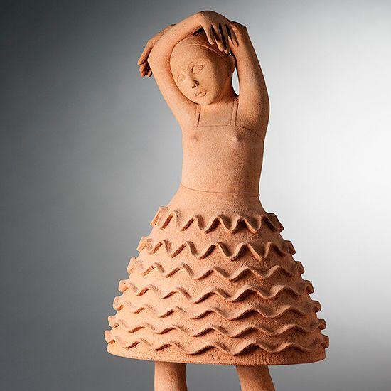 Wow Liz Williams Ceramic Sculpture Clay Dolls Clay Sculpture
