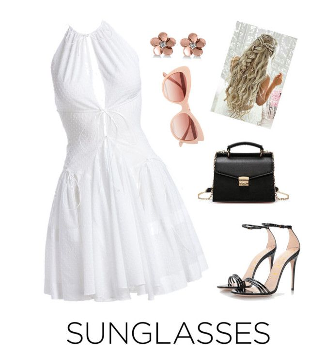"""Sunglasses"" by brightheart593 ❤ liked on Polyvore featuring Dolce&Gabbana, Alaïa, Gucci and Allurez"