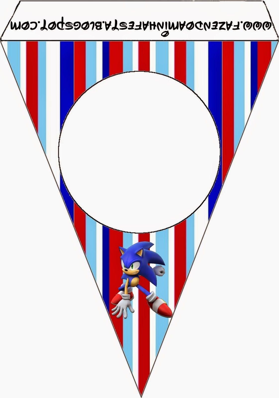 Sonic Imprimibles Imágenes Y Fondos Gratis Para Fiestas
