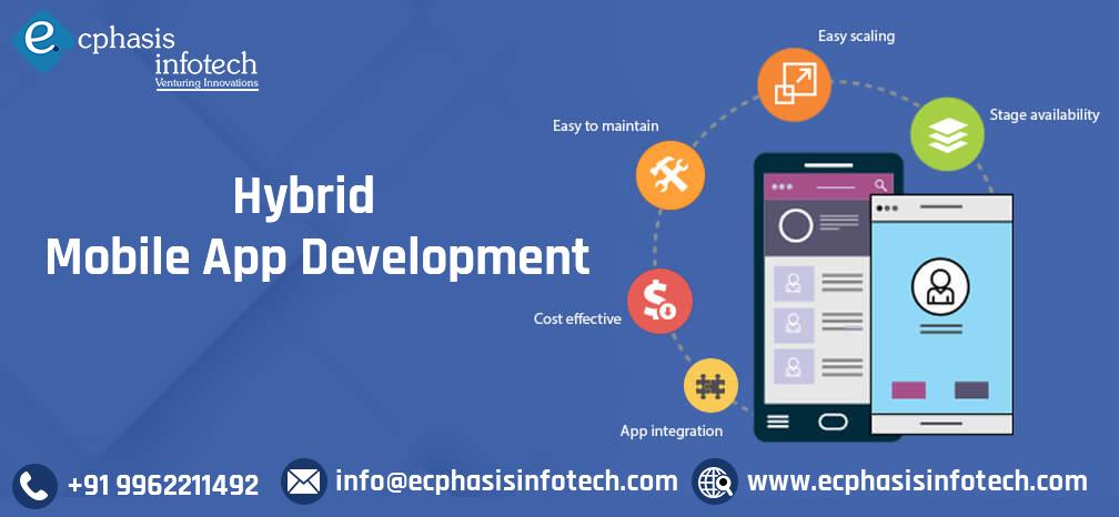 Ecphasis Infotech provides hybrid mobile application