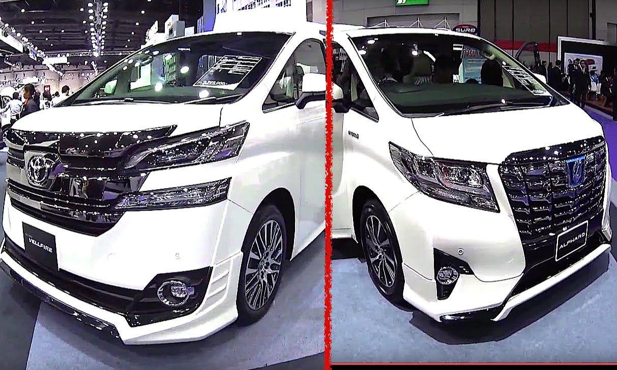 All New Toyota Vellfire 2017 Kijang Innova Vs Crv Best Luxury Vans Alphard 2016 Model Almost Similar But So Different