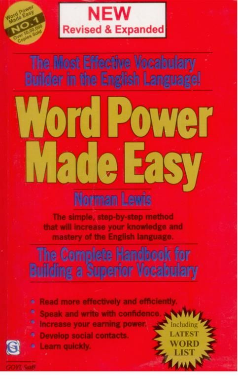 free download word power made easy by norman lewis pdf