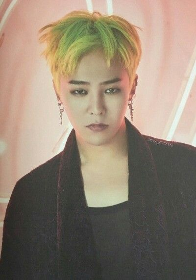Image Result For G Dragon Green Hair Shinee Taemin Bts G Dragon