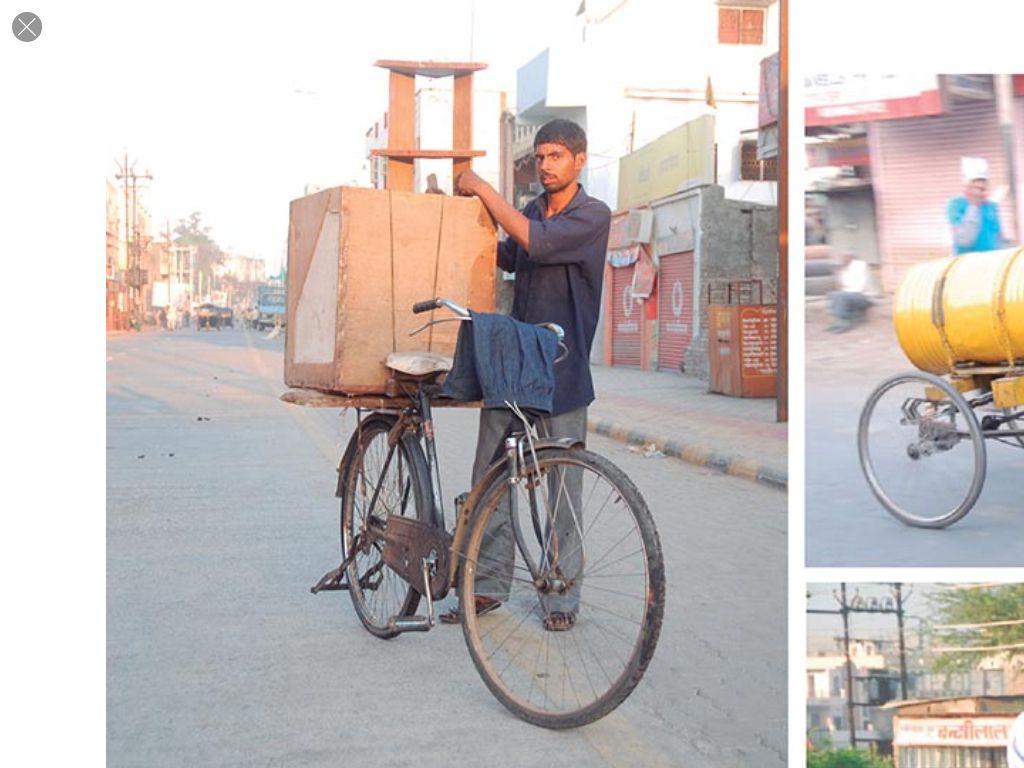 Furniture Delivery Bike
